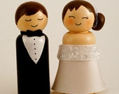 Custom Wedding Cake Topper - Happy & Handmade
