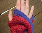 Mobius Mittens: Crocheted Fingerless Mittens
