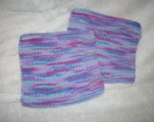 Set of 2 Knitted washcloths