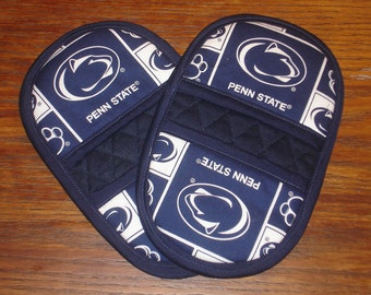 Penn State Mini Microwave Mitts - Oven Mitts - Pinchers - Free Shipping Etsy