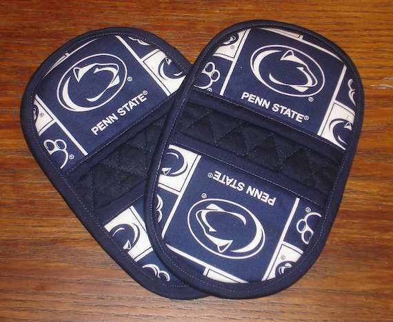 Penn State Wedding Gifts: Penn State Mini Microwave Mitts Oven Mitts Pinchers By MBTPA
