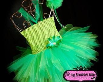 Fairy Tutu Dress Set - newborn tutu, infant tutu, toddler tutu, baby tutu, princess tutu, princess tutu, dress up tutu, dance tutu, tutu