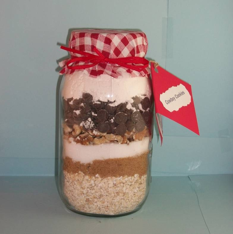 Cowboy Cookie Mix in a Jar by InstantChef on Etsy