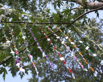 TWELVE Strings of Tree Jewelry!  Hanging Garden Art