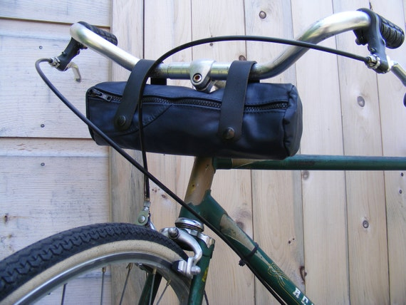 Upcycled Leather Bicycle Bag