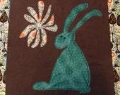 "Woodland Quilt Block Pattern, ""Rabbit"""