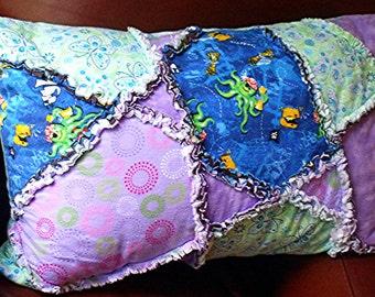 Rag Pillow Sham Octopus