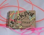 Crackpot Ideas, Mini Journal, sketchbook, scrapbook, travel size