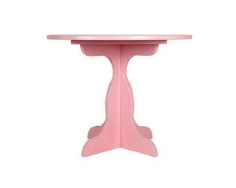 Pedestal table - Collection has rabbet