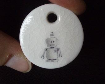 Minibot children's robot necklace