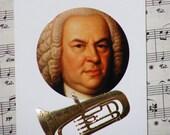 Bach Euphonium Greeting Card