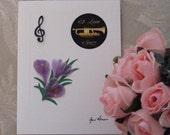 Jazz Lover Greeting Card