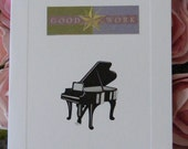 Piano Congratulations Card