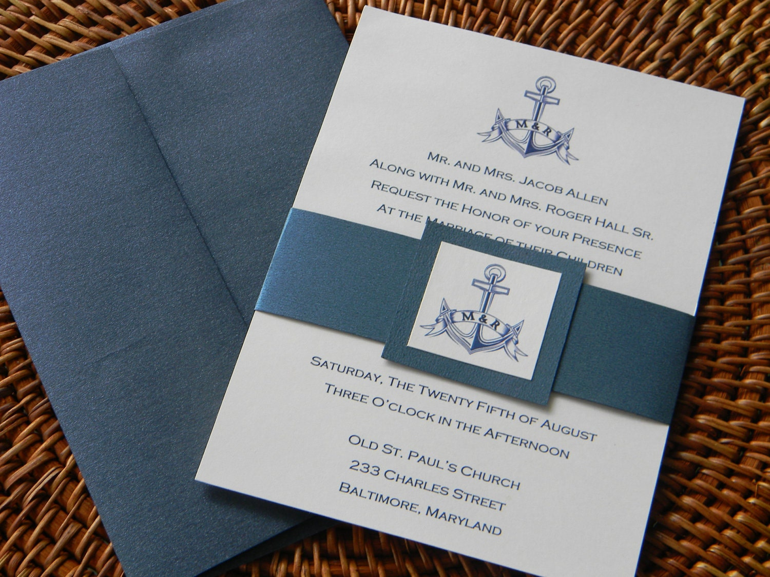 Belly Band Invitation is adorable invitation template