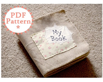 Quiet Book Printable PDF Pattern With Instructions (Instant Download)