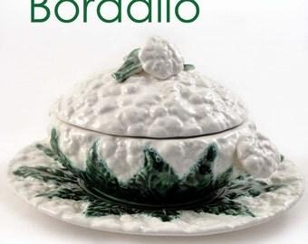 Bordello cauliflower Bowl With Platter, Lid & Ladle