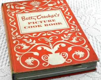 Betty Crocker 1950 Original Picture Cookbook