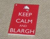 Nigel Thornberry Keep Calm Keychain/Lanyard/Phone Charm