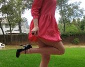 Fuchsia Lolita Bubble Mini Harajuku Size XS