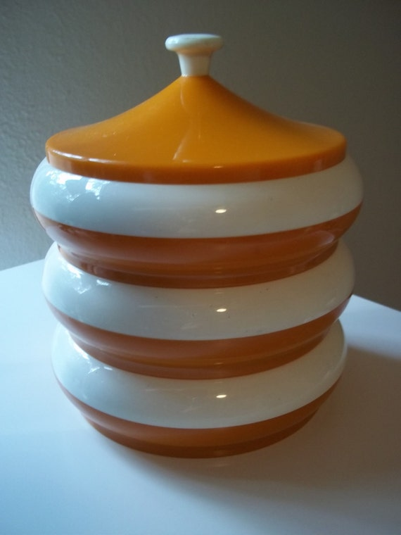 Vintage Plastics Consolidated Mid Century Eames Canisters