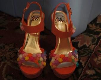 Flowering High Heels