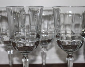 Set of 4 Water Goblets or all-purpose wine glass