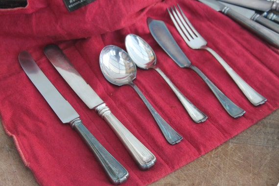Vintage Partial Rogers Flatware Set