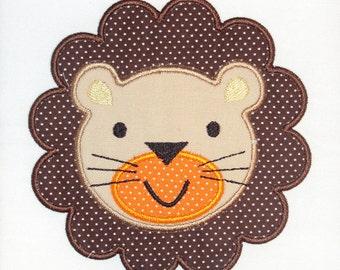 Baby Lion Embroidery Design Machine Applique