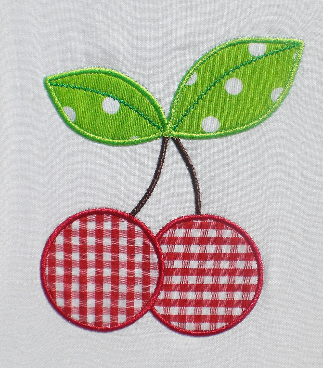 cherries embroidery design machine applique. Black Bedroom Furniture Sets. Home Design Ideas