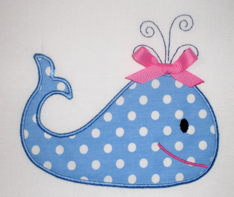 whale embroidery design machine applique. Black Bedroom Furniture Sets. Home Design Ideas