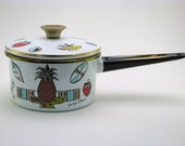 George Briard mid Century ambrosia pattern cooking pan Collectors item