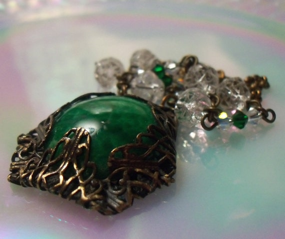 1940s Emeralds and Roses