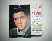 Elvis Vinyl Record Vintage Collectable Rock