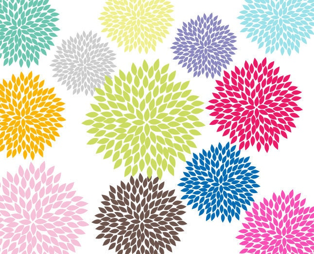 Cute Flower Clipart 12 Blooming Beautiful by ...