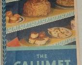 1931 The Calumet Baking Book booket type cookbook