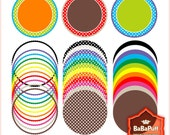 Instant Downloads, 12 Frames x 3 Sets. Clip Art For Personal and Small Commercial Use. BP 0290