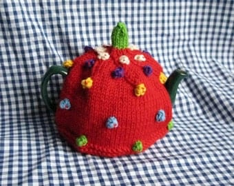 Red Spotted Tea Cosy