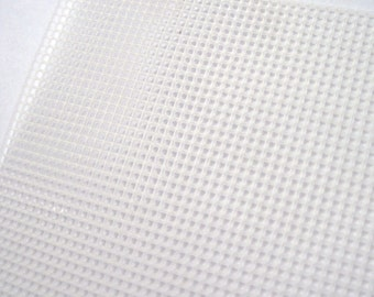 Plastic canvas grid, bag making, cross stitch canvas, embroidery canvas, bag bottom, bag reinforcement, bag making supplies UK, cross stitch