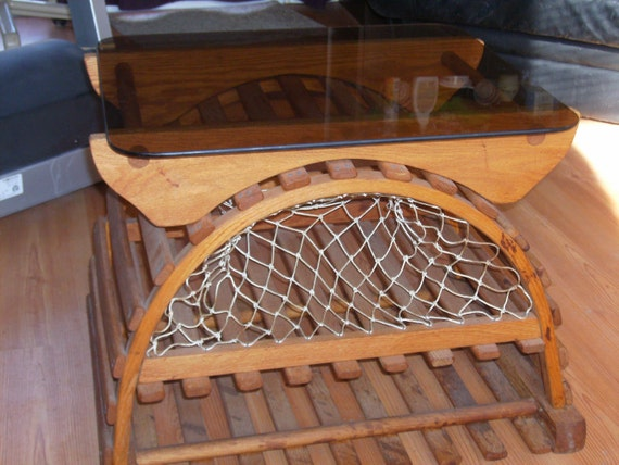 Items similar to Lobster Trap Tables on Etsy