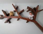TREE BRANCH BOOKSHELF - ChadPHuntFineArt