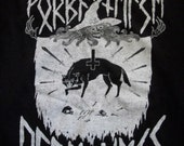 REDUCED PRICE basic wolf witch rune TEE gildan 2000