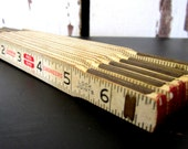 Lufkin Engineers Wooden Folding Ruler - cozycottagechic