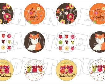 Made to Match Gymboree M2MG Fall For Autumn bottlecap image sheet