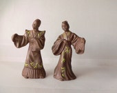 Chinese Dancing figurines, Chinese figurines, Chinese Dancers