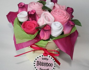 Pink Baby Clothing Bouquet