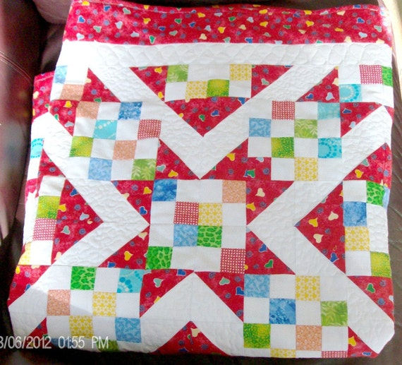 Sunny Lanes Baby Quilt