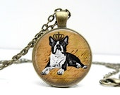 Boston Terrier Necklace - Boston Terrier Gifts - Gifts for Dog Lovers - Dog Lover Gift - Dog Lover Jewelry - Birthday Gift - Handmade Gifts