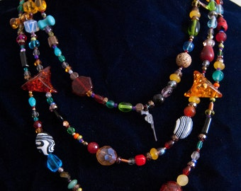 The Carnival Necklace OOAK
