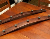 Wall-Mounted Coat Rack (with Standard Knobs)