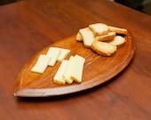 Wine Barrel Bread Board - Small Oval